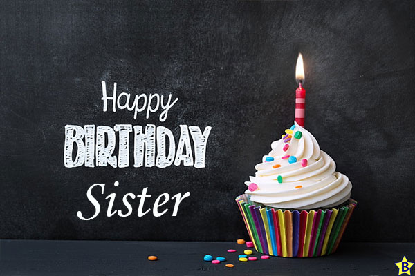 happy birthday sister cupcake images