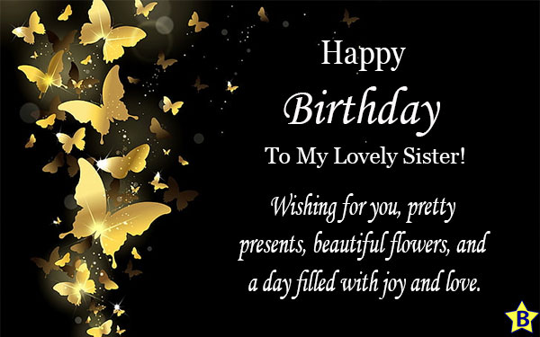 happy birthday sister emotional quotes