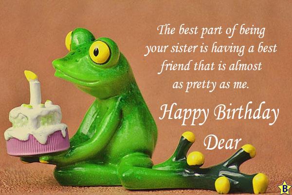 happy birthday sister qoutes-funny