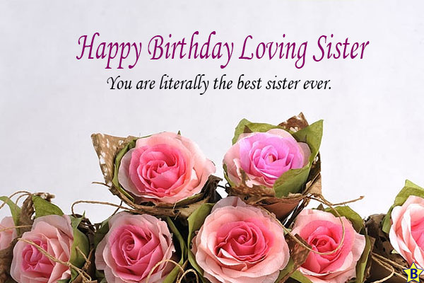 happy birthday sister you are so special in my life