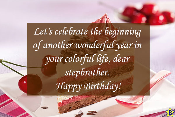 happy birthday step brother images free download