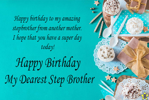 happy birthday step brother images