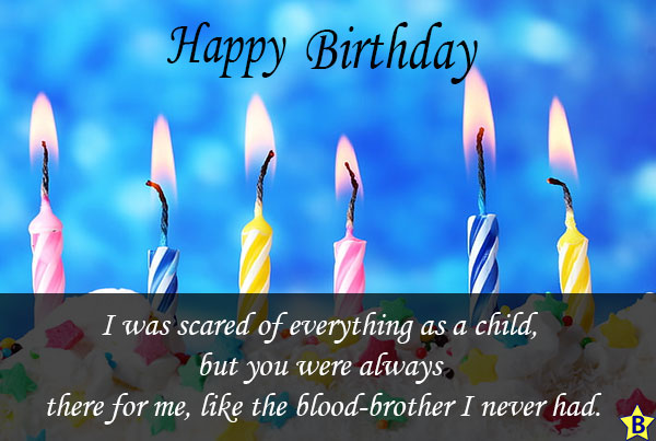 happy birthday step brother sayings