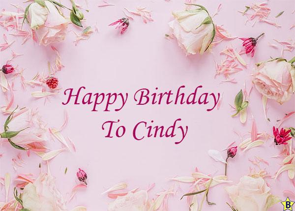 happy birthday to cindy