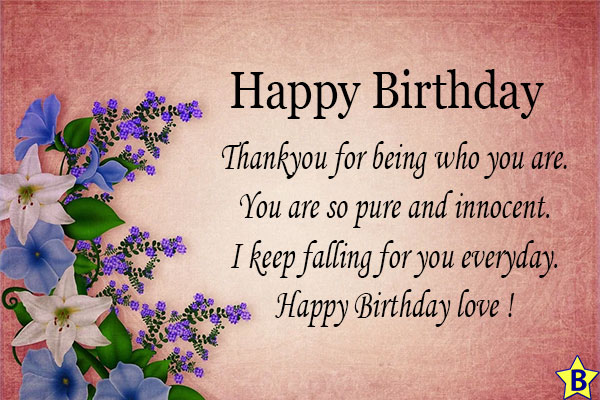 happy birthday wife card messages