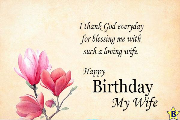 happy birthday wife love status