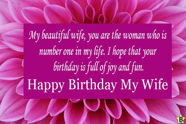 happy birthday wife on facebook