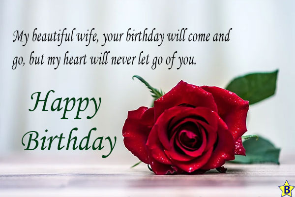 happy birthday wife one liners