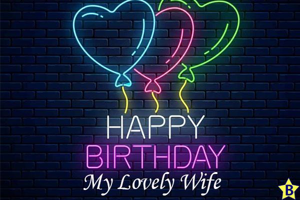 happy birthday wife pictures heart