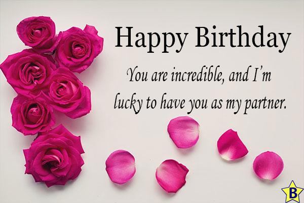happy birthday wife unique wishes