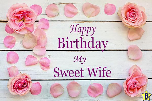 happy birthday wife