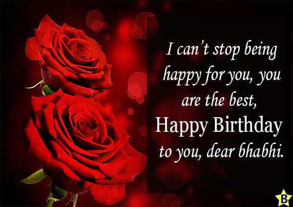 Birthday wishes for Bhabhi Greeting