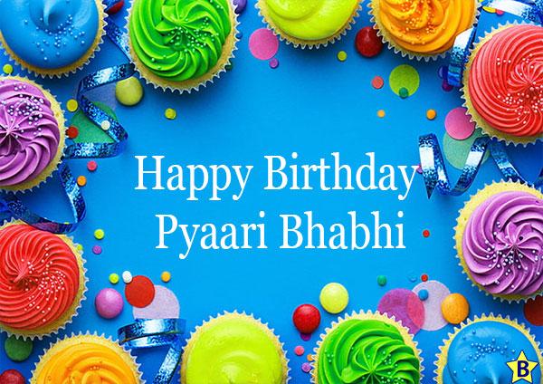 Birthday wishes for pyari Bhabhi