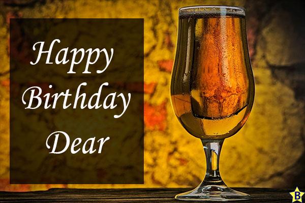 Happy Birthday Beer Images