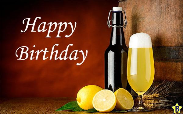 Happy Birthday Beer images bottle