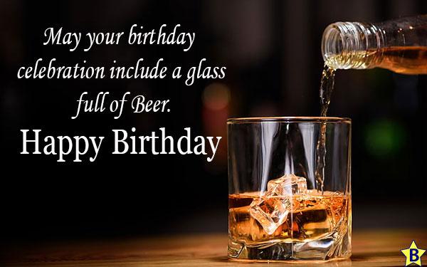 Happy Birthday Beer messages