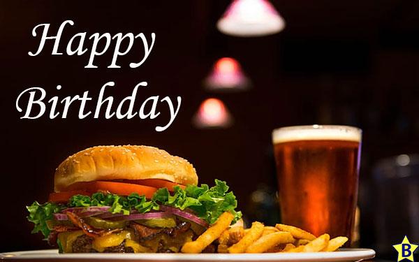 Happy Birthday Beer pics burger