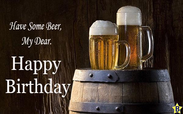Happy Birthday Beer pics sms