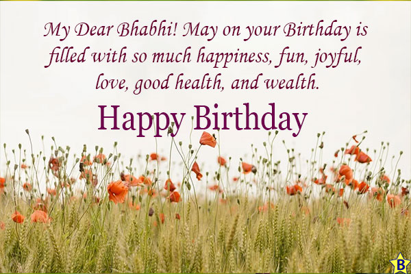 Happy Birthday Bhabhi Ji Images free download