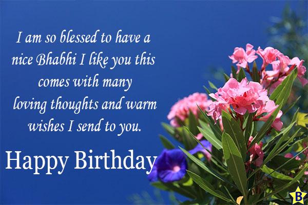 Happy Birthday Bhabhi Ji Images free