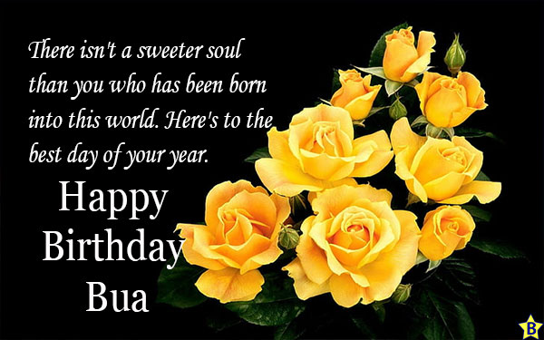 Happy Birthday Bua Quotes