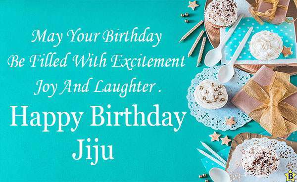 Happy Birthday Jiju text