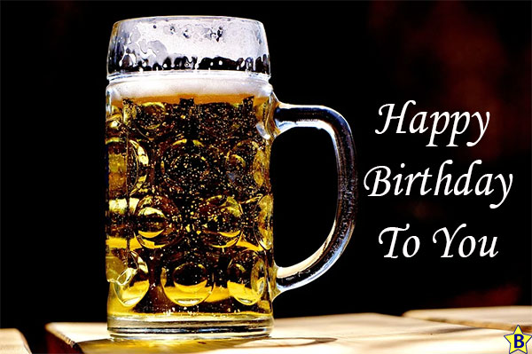 Happy Birthday to you Beer Images