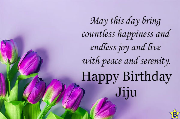 birthday wishes for Cute jiju