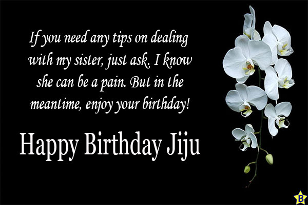 birthday wishes for jiju funny from saali